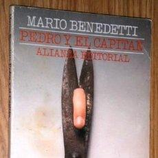 Libros de segunda mano: PEDRO Y EL CAPITÁN POR MARIO BENEDETTI DE ALIANZA EDITORIAL EN MADRID 1995. Lote 140379698