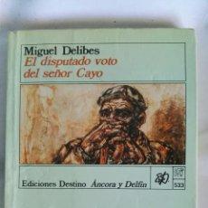 Libros de segunda mano: EL DISPUTADO VOTO DEL SEÑOR CAYO. Lote 140709589