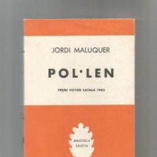 Libros de segunda mano: POL.LEN.. Lote 141919170