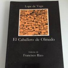 Libros de segunda mano: EL CABALLERO DE OLMEDO, LOPE DE VEGA. Lote 46090955