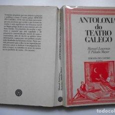 Libros de segunda mano: MANUEL LOURENZO, F. PILLADO MAYOR ANTOLOXIA DO TEATRO GALEGO Y91452. Lote 143704066