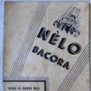 Libros de segunda mano: FOLLETO O LIBRO, NELO BACORA , CUENTOS VELLS DEL HORTA , PERIS CELDA , EN VALENCIANO, ORIGINAL ,RF1. Lote 144124154