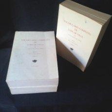 Libros de segunda mano: CARLOS FERNANDEZ GOMEZ - VOCABULARIO COMPLETO DE LOPE DE VEGA - 3 TOMOS, MADRID 1971. Lote 144554726