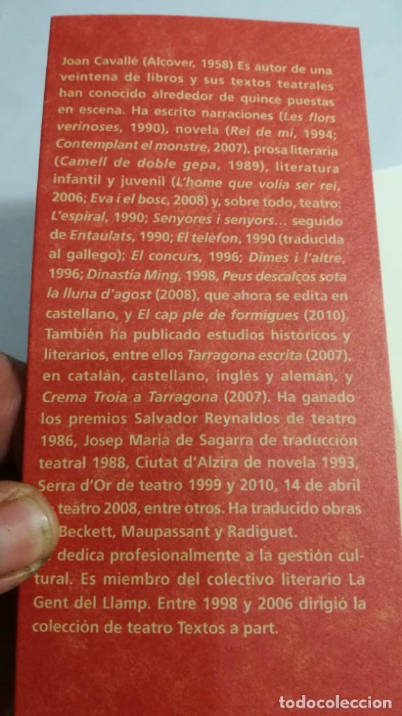 Libros de segunda mano: PIES DESCALZOS BAJO LA LUNA DE AGOSTO/ JOAN CAVALLE/ AROLA EDITORS/ NUEVO - Foto 4 - 144578182