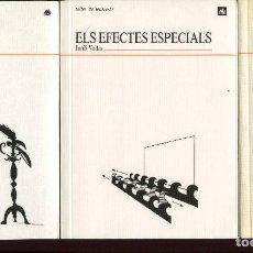 Libros de segunda mano: JORDI VOLTAS. 3 LLIBRES TEATRE. EL MAQUILLATGE. EFECTES ESPECIALS. EL VESTUARI. 1991 NOUS.. Lote 144694430