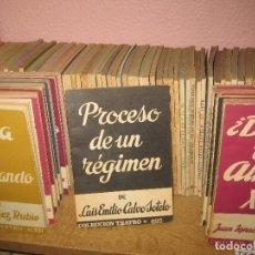 Libros de segunda mano: 80 LIBROS DE LA COLECCION TEATRO. EDITORIAL ALFIL. . Lote 145315518
