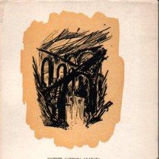 Libros de segunda mano: VICENTE CARDONA LLABATA : LOS PUENTES (VALENCIA, 1968) CON AUTÓGRAFO DEL ESCRITOR. Lote 145907482