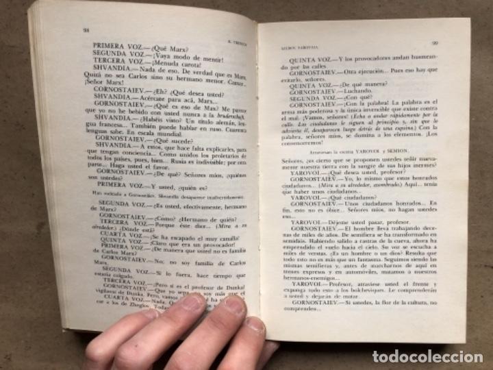 Libros de segunda mano: TEATRO DE LA REVOLUCIÓN (CUATRO OBRAS DE AUTORES SOVIÉTICOS). EDITORIAL PROGRESO 1979, MOSCÚ. - Foto 5 - 146223974