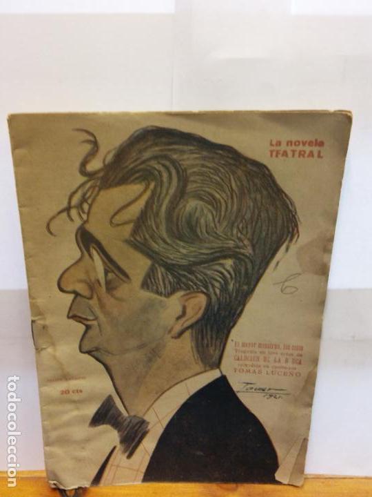 BJS.TOMAS LUCEÑO.EL MAYOR MONSTRUO,LOS CELOS.EDT, LA NOVELA TEATRAL.. (Libros de Segunda Mano (posteriores a 1936) - Literatura - Teatro)