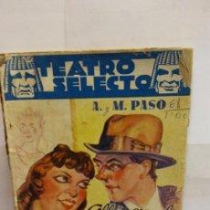 Libros de segunda mano: BJS.ANTONIO Y MANUEL PASO.ALLA EN EL RANCHO CHICO.EDT, CISNE... Lote 146389862