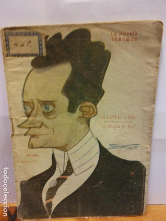 STQ.JOSE FERNANDEZ DEL VILLAR.LA CASETA DE LA FERIA.EDT, NOVELA TEATRAL. . (Libros de Segunda Mano (posteriores a 1936) - Literatura - Teatro)