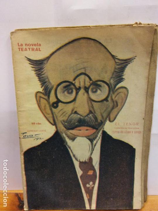 STQ.TORRES Y ASENJO.EL TENOR.EDT, NOVELA TEATRAL. . (Libros de Segunda Mano (posteriores a 1936) - Literatura - Teatro)