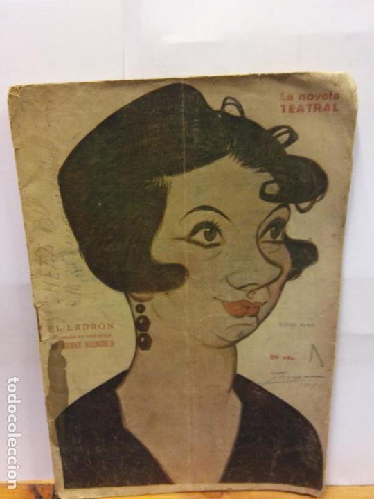 STQ.HENRY BERNSTEIN.EL LADRON.EDT, NOVELA TEATRAL. . (Libros de Segunda Mano (posteriores a 1936) - Literatura - Teatro)