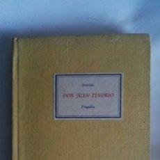 Libros de segunda mano: DON JUAN TENORIO TRAGEDIA ZORRILLA. Lote 146800404