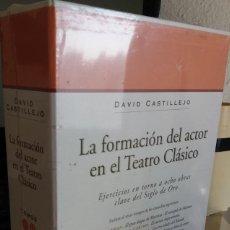 Libros de segunda mano: LA FORMACIÓN DEL ACTOR EN EL TEATRO CLÁSICO - CASTILLEJO, DAVID (PRECINTADO). Lote 147014806