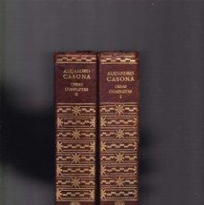 Libros de segunda mano: ALEJANDRO CASONA - VOL. I - VOL. II - OBRAS COMPLETAS / TEATRO - EDITORIAL AGUILAR 1967. Lote 147629774