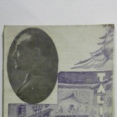 Libros de segunda mano: LA COFRADIA DE LOS AMARGADOS, COLECCION TALIA, Nº XX, AÑO 1941. Lote 148116662