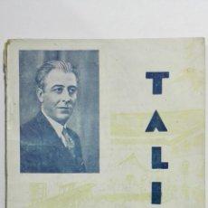 Libros de segunda mano: FULANITA Y MENGANITO, COLECCION TALIA, Nº VII, AÑO 1940. Lote 148117070