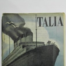 Libros de segunda mano: EL ALMA PRESTADA, COLECCION TALIA, Nº LVIII, AÑO 1945. Lote 148117210
