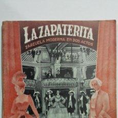 Libros de segunda mano: LA ZAPATERITA, COLECCION TALIA, Nº XLVIII, AÑO 1943. Lote 148117774