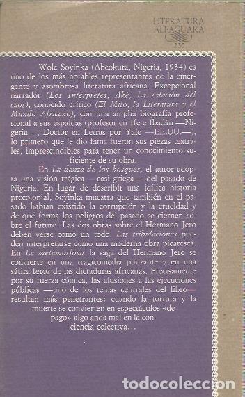 Libros de segunda mano: TEATRO - WOLE SOYINKA - ALFAGUARA - ESTUPENDO ESTADO - Foto 2 - 148674430