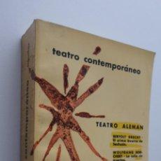 Libros de segunda mano: TEATRO ALEMÁN CONTEMPORÁNEO - AGUILAR. Lote 148716844