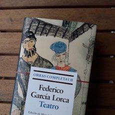 Libros de segunda mano: TEATRO (OBRAS COMPLETAS II), DE FEDERICO GARCIA LORCA. GALAXIA GUTENBERG. ÚNICO EN TC.. Lote 149725726