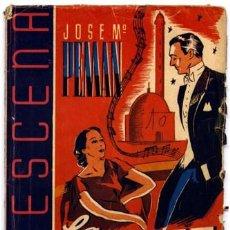 Libros de segunda mano: PEMAN, JOSÉ MARIA. LA DANZA DE LOS SIETE VELOS. COMEDIA EN TRES ACTOS. 1942.. Lote 150076146