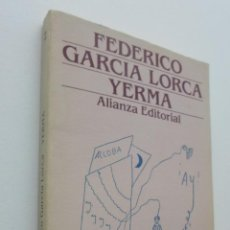 Libros de segunda mano: YERMA - GARCÍA LORCA, FEDERICO. Lote 150774158