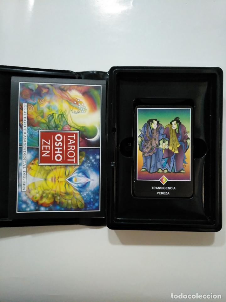 Libros de segunda mano: TAROT OSHO ZEN. GAIA EDICIONES, 2005. TDKLT - Foto 2 - 150807102