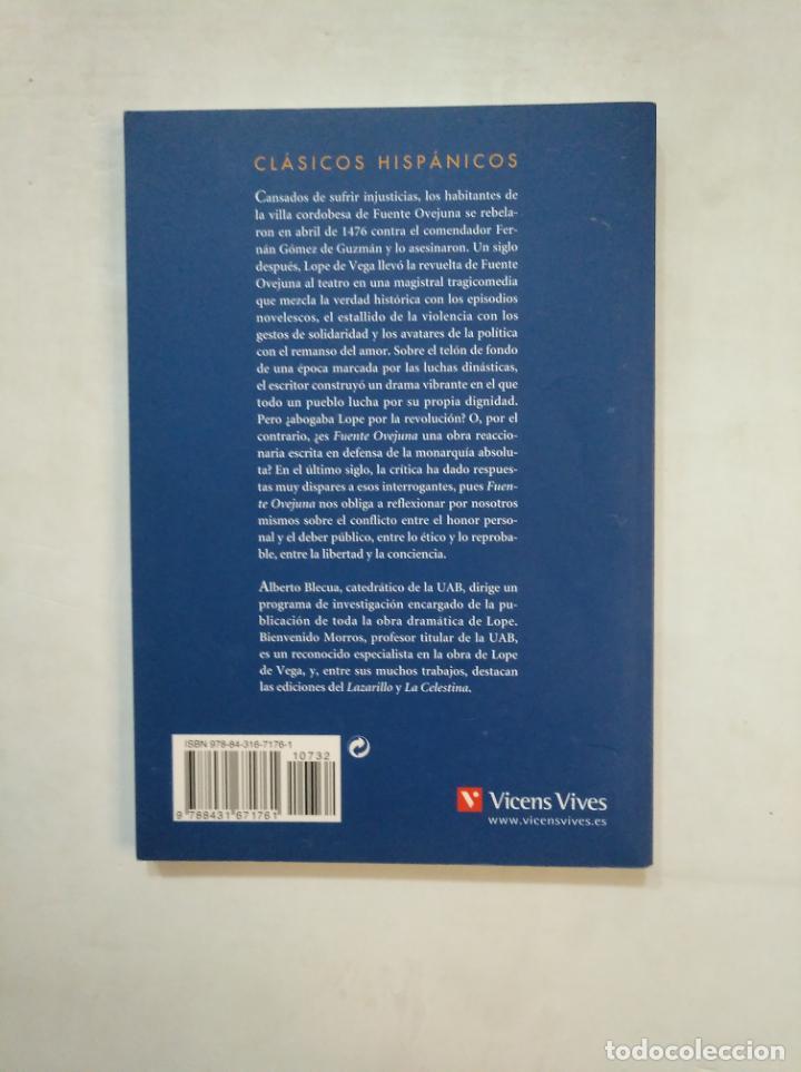 Libros de segunda mano: FUENTE OVEJUNA. LOPE DE VEGA. CLASICOS HISPANICOS VICENS VIVES Nº 16. TDK367 - Foto 2 - 151736138