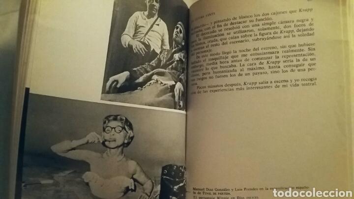 Libros de segunda mano: La última cinta/Acto sin palabras. Samuel Beckett. Colección Voz e Imagen.Primera Edición 1965. - Foto 3 - 153405986