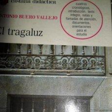 Libros de segunda mano: EL TRAGALUZ, ANTONIO BUERO VALLEJO, ED. CASTALIA. Lote 153431030