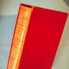 Libros de segunda mano: THEATRE - FEDERICO GARCIA LORCA - GALLIMARD, 1967 (EN FRANCES, TAPA DURA CON ESTUCHE, NUMERADO). Lote 153811698