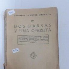 Libros de segunda mano: 11222 - DOS FARSAS Y UNA POETA OPERETA . Lote 154620306