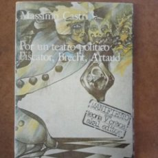 Libros de segunda mano: POR UN TEATRO POLITICO PISCATOR, BRECHT, ARTAUD - AKAL. Lote 155005066
