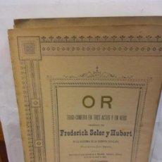 Libros de segunda mano: STQ.FREDERICK SOLER.OR.EDT, BARCELONA... Lote 155081658