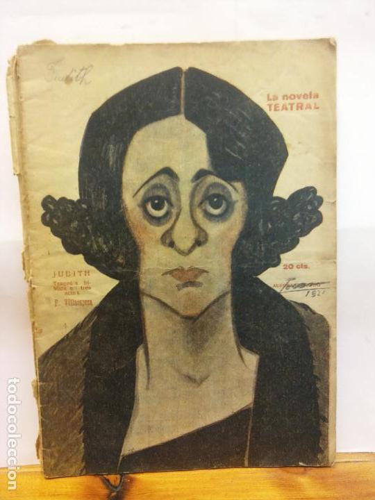 STQ.F VILLAESPESA.JUDITH.EDT, MADRID.BRUMART TU LIBRERIADUARD (Libros de Segunda Mano (posteriores a 1936) - Literatura - Teatro)
