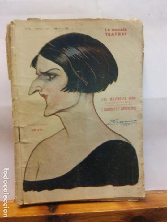 STQ.GABALDON Y GUTIERREZ.UNA MUJERCITA SERIA.EDT, MADRID.BRUMART TU LIBRERIADUARD (Libros de Segunda Mano (posteriores a 1936) - Literatura - Teatro)