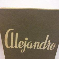 Libros de segunda mano: STQ.TERENCE RATTIGAN.ALEJANDRO.EDT, ALFIL... Lote 155213250