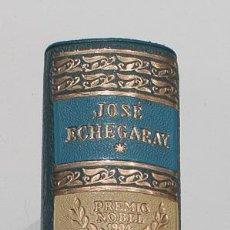 Libros de segunda mano: BIBLIOTECA PREMIOS NOBEL AGUILAR. NOBEL 1904. JOSE ECHEGARAY. TEATRO ESCOGIDO.. Lote 155298534