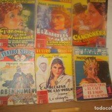 Libros de segunda mano: 6 TEATRO SELECTO ESPECIAL DRAMÁTICO 3 4 5 CLÁSICO 2 EXTRANJERO 2 EXTRAORDINARIO 2. 1ª ED CISNE 1940.. Lote 155546702
