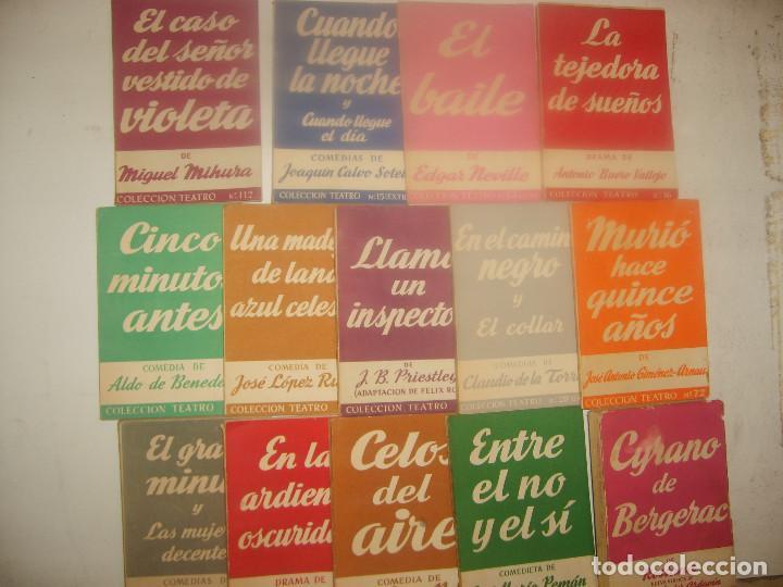 COLECCIÓN TEATRO NºS 1 2 3 5 EXTRA 6 9 14 15 EXTRA 30 EXTRA 63 EXTRA 72 112 155 EXTRA. ED. ALFIL. (Libros de Segunda Mano (posteriores a 1936) - Literatura - Teatro)