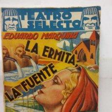 Libros de segunda mano: STQ.EDUARDO MARQUINA.LA ERMITA,LA FUENTE Y EL RIO.EDT, CISNE... Lote 155766894