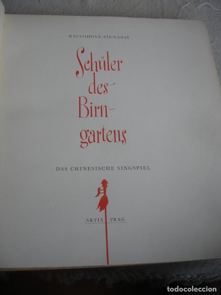 Libros de segunda mano: (ARTE). KALVODOVA-SISVANIS: SCHÜLER DES BIRNGARTENS - Foto 2 - 155803366