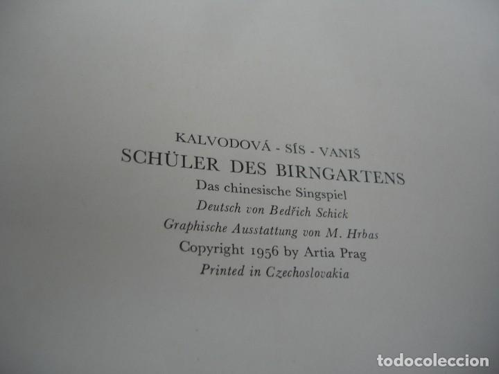 Libros de segunda mano: (ARTE). KALVODOVA-SISVANIS: SCHÜLER DES BIRNGARTENS - Foto 3 - 155803366