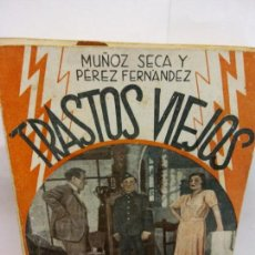 Libros de segunda mano: STQ.SECA Y FERNANDEZ.TRASTOS VIEJOS.EDT, LA FARSA.BRUMART TU LIBRERIA. Lote 156969174