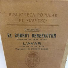 Libros de segunda mano: STQ.L´AVAR.EL SORRUT BENEFACTOR.EDT,BARCELONA.BRUMART TU LIBRERIA. Lote 156973158