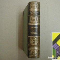 Libros de segunda mano: CALDERON DE LA BARCA:TEATRO. .... Lote 157001806