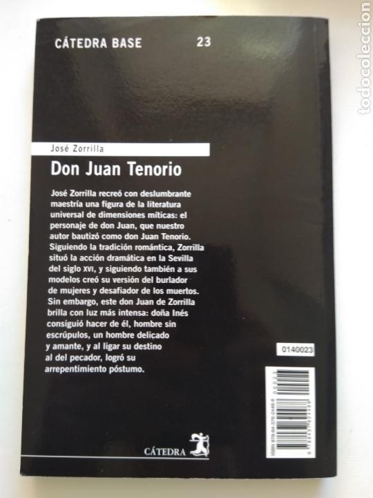 Libros de segunda mano: DON JUAN TENORIO/JOSÉ ZORRILLA - Foto 2 - 157072648
